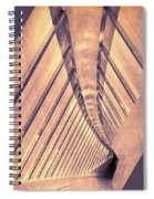 Abstract Corridor Architecture Spiral Notebook