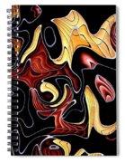 Abstract Digital Art #030 Spiral Notebook