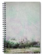 Abstract Down The Road Spiral Notebook