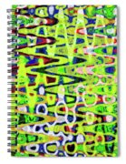 Abstract Dr #6 Spiral Notebook