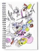 Abstract Drawing Seventy-two Spiral Notebook