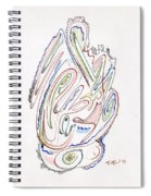 Abstract Drawing Sixty Spiral Notebook