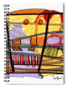 Abstract Drawing Sixty-seven Spiral Notebook
