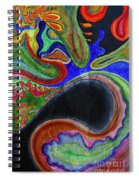 Abstract Dream Spiral Notebook