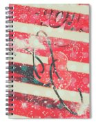 Abstract Dynamite Charge Spiral Notebook