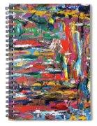 Abstract Expressionism Bvdschueren Spiral Notebook