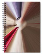 Abstract Face Spiral Notebook