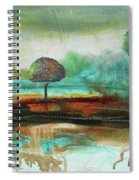 Abstract Fantasy Landscape Spiral Notebook