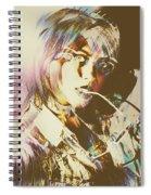 Abstract Fashion Pop Art Spiral Notebook