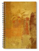 Abstract Floral - 14v2ct01a Spiral Notebook