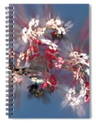 Abstract Floral Fantasy  Spiral Notebook