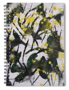 Abstract Floral Study Spiral Notebook