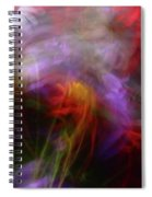 Abstract Flowers One Spiral Notebook