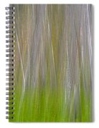 Abstract Forest 2 Spiral Notebook