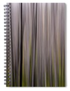 Abstract Forest Spiral Notebook