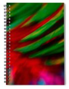 Abstract Frolic Spiral Notebook