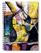 Abstract Fruit Still Life Spiral Notebook