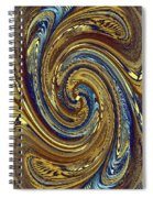 Abstract Fusion 272 Spiral Notebook