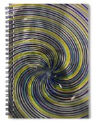 Abstract Glass 6 Spiral Notebook