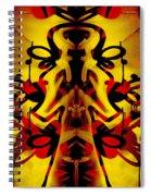 Abstract Graffiti 19 Spiral Notebook