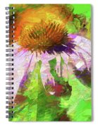 Abstract Harmony Spiral Notebook