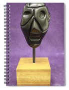Abstract Head Spiral Notebook