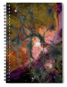 Abstract Images Of Forgiveness Series #4 Spiral Notebook
