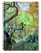 Abstract Japanese Maple Tree 3 Spiral Notebook