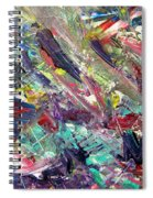 Abstract Jungle 7 Spiral Notebook