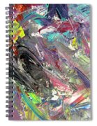 Abstract Jungle 9 Spiral Notebook