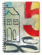 Abstract Landscape Spiral Notebook