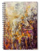 abstract landscape VI Spiral Notebook