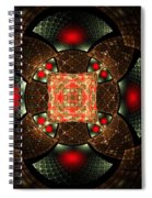 Abstract Mandala 2 Spiral Notebook