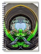Abstract Motorcycle Spiral Notebook