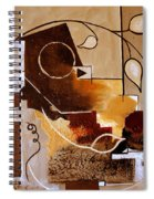 Abstract Nature Wall Spiral Notebook