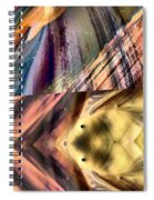 Abstract Nito An Abstract Spiral Notebook