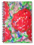 Abstract Nr 49 Spiral Notebook