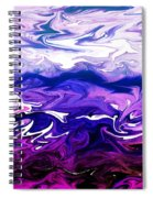 Abstract Ocean Fantasy One Spiral Notebook