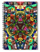 Abstract Of Abundant Colors Spiral Notebook