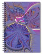 Abstract Of Cells Spiral Notebook