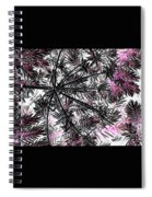 Abstract Of Ever Green Bush Spiral Notebook