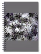 Abstract Of Low Growing Evergreen Shrub Spiral Notebook