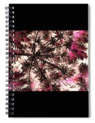 Abstract Of Low Growing Shrub  Spiral Notebook