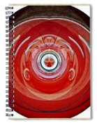 Abstract Old Car Framed Spiral Notebook