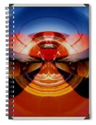 Abstract Old Car Spare Tire Spiral Notebook