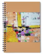 Abstract Painting Spiral Notebook