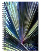 Abstract Palm Leaf Spiral Notebook