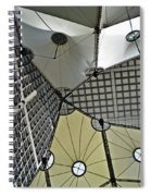 Abstract Paris Spiral Notebook