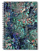 Abstract Pattern Of Colors Spiral Notebook