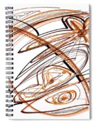 Abstract Pen Drawing Ten Spiral Notebook